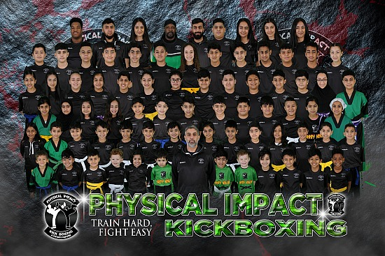 Physical Impact Kickboxing - Club Shoot - Saturday 21st December 2019