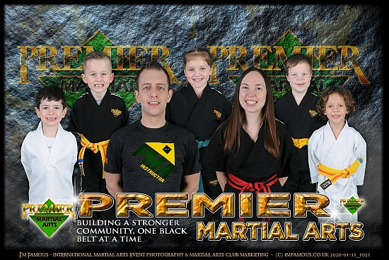 Premier Martial Arts Chelmsford - Club Photo Shoot - Chelmsford - Friday 31st January