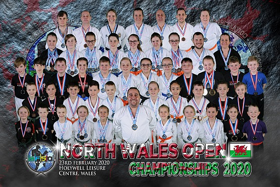 North Wales Open Championships 2020 - Holywell Leisure Centre - Sunday 23th February 2020