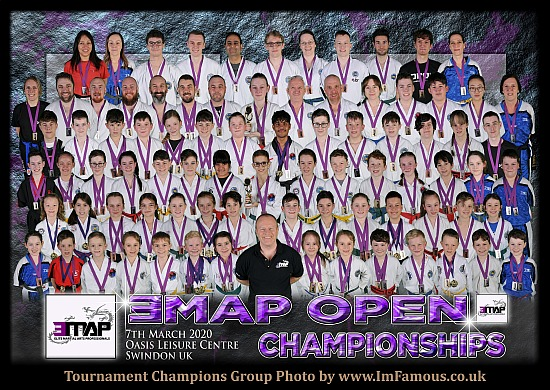 EMAP Open Championships 2020 - Oasis Leisure Centre Swindon - Saturday 7th March 2020