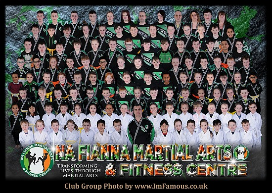 Na Fianna Martial Arts and Fitness Centre - Athlone. Co Westmeath - Monday 2nd to Wednesday 4th March 2020