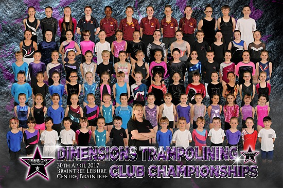 Dimensions Trampolining Competition - Sun 13th May 2018