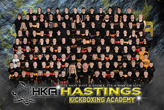Hastings Kickboxing Academy - Club Photoshoot Experience - Monday 2nd & Tuesday 3rd November 2020